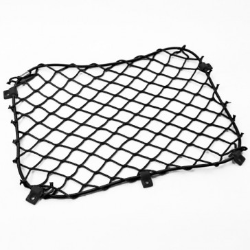 Door net 300 x 250 + 5x clips, Black
