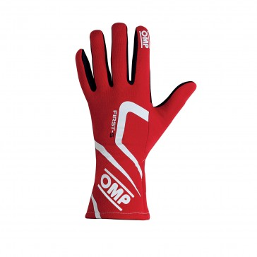 Racing Gloves, FIRST-S 2018-Red-L