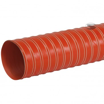 Flexible Air Duct, Heat resistant, Dual layer, 1m