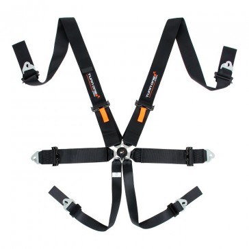 FIA Speed Harness, 6pnt, Black (Without HANS)