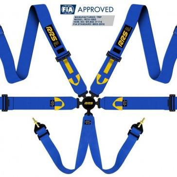 FIA R6 2018 2.9 kg blue harnesses (6pts)