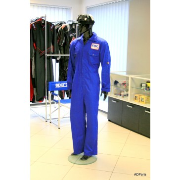 Dark Blue Mechanics Suit