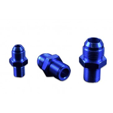 AN6-M14x1.5 Aluminium Blue Adapter