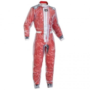 RAINPROOF SUIT TRASPARENT PVC