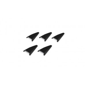 Sparco SET OF SMALL LATERAL MATT BLACK AIR INTAKES