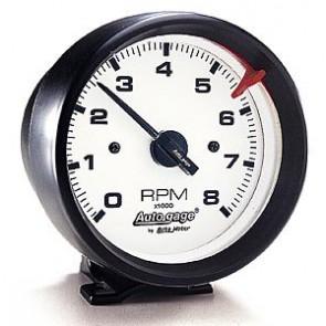 Auto Meter Electronic Tachometer (White)