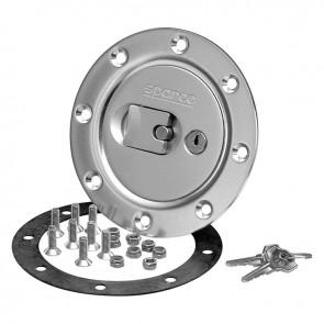 Sparco Aero Fuel Cap (Silver), locking