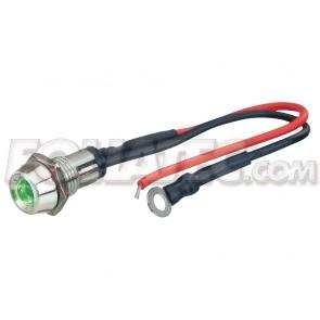 Foliatec Led control light, green, 10mm