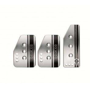 Sparco Settanta Pedal Set (Silver)