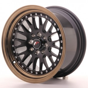Japan Racing Diski JR10 15x8 ET20 4x100/108 MatBlk BzLip