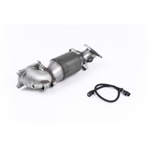 Milltek Sport Cast Downpipe with HJS High Flow Sports Cat Honda Civic Type R FK2 Turbocharged 2.0 litre i-VTEC (2015-2018) SSXHO230