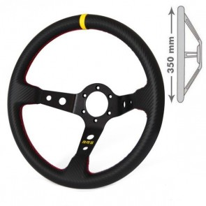 RRS Steering Wheel, Carbon Look (350mm, 90mm)