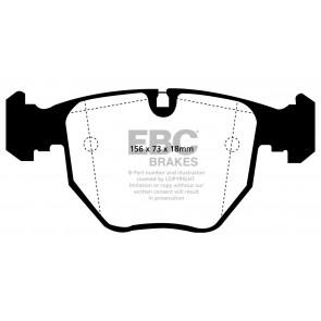 EBC Brakes Bluestuff Brake Pads (Front, DP51036NDX)