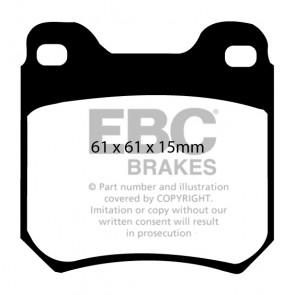 EBC Brakes Ultimax Brake Pads (Rear, DP675)
