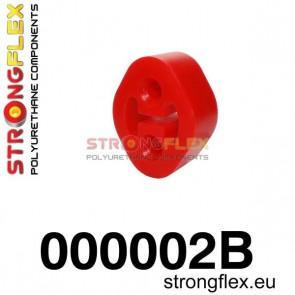 Strongflex 000002B: Exhaust mount hanger 26mm