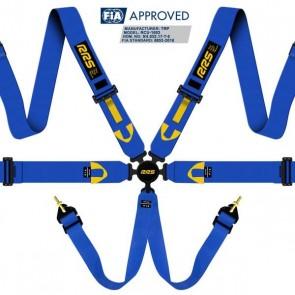 RRS FIA R6 2018 2.9 kg blue harnesses (6pts)