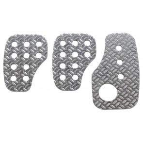 OMP Racing Aluminium Pedal Set (OA/1050)