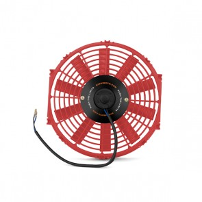 "Mishimoto Slim Electric Fan 12"", RED"