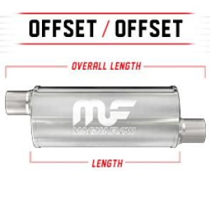 "MagnaFlow 6"" Universal Stainless Steel Muffler"