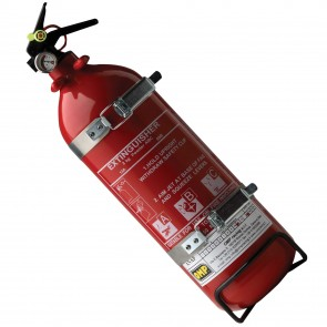 OMP Hand Held Fire Extinguisher 2kg Dry Powder
