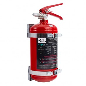 OMP Hand Held Fire Extinguisher 2.4 Litre AFFF (Red)