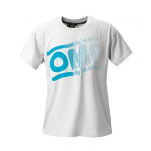 OMP Striped Logo T-Shirt