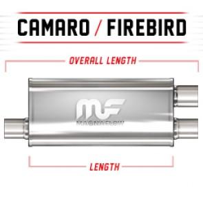 "MagnaFlow 5""x8"" Universal Stainless Steel Muffler"