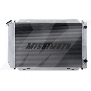 Mishimoto Ford Mustang Dual Pass Racing Radiator, 1979-1993