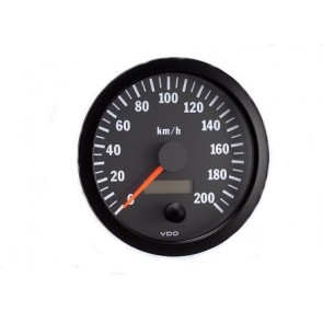 VDO Speedometer, 0-200Kmh, 80mm