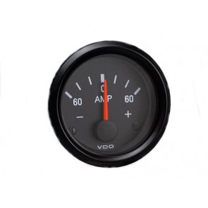 VDO Amperemeter, 60A, 52mm