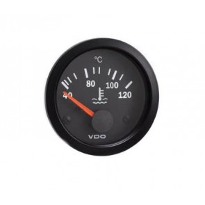 VDO Water Temperature Gauge, 52mm