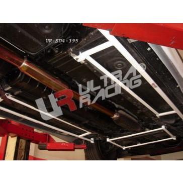 Mitsubishi EVO 7/8/9  2x 4-Point Side/Floor Bars