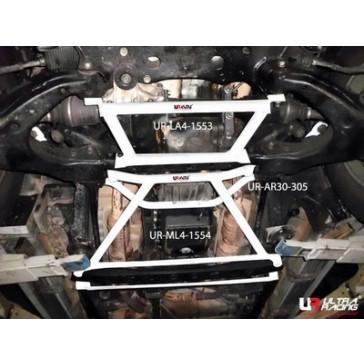 Toyota Land Cruiser 100 98-07  4-Point Front H-Brace