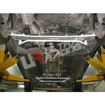 Nissan Micra K12 02-07  2-Point Rear Lower Tiebar
