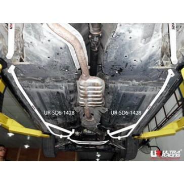 Subaru Legacy B4 03-09 2.0  2x 3-Point Side Bars 1428