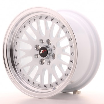 JR10 15x8 ET15 4x100/114 White