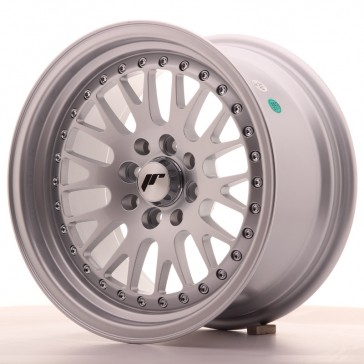 JR10 15x8 ET15 5x100/114 Full Silver