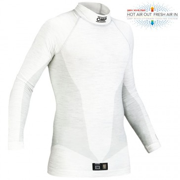 ONE Long Sleeve Top-White-XL