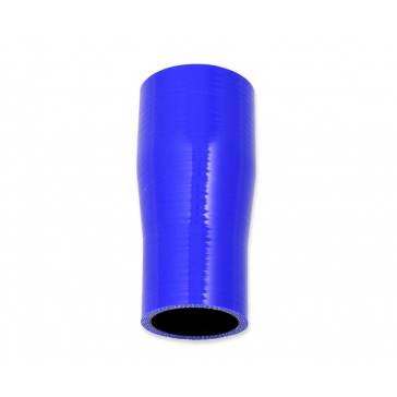 Straight silicone reducer 38 > 22 mm