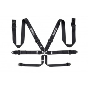 Sparco Racing harnesses, 6 POINT RACER HARNESS ALU