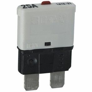 Sandtler Circuit breaker, Push to Reset, 25A