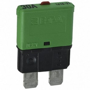 Sandtler Circuit breaker, Push to Reset, 30A