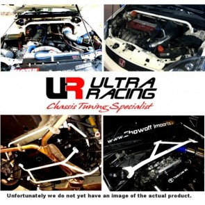 Ultraracing Saab 93 02-12 2.0T  2-Point Front Upper Strutbar