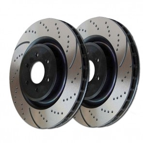 EBC Brakes Turbo Grooved Discs (Front, GD7427)