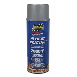 Thermo-Tec Hi-Heat Coating Spray, Silver
