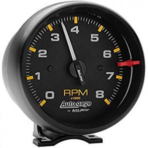 Auto Meter Electronic Tachometer (Black)