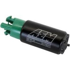 AEM High Flow In-Tank Fuel Pump E85 - 320LPH@43PSI (50-1200) (65MM Short Offset Inlet, Inline)