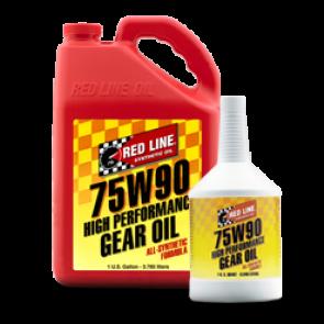 Red Line 75w90, GL-5 Gear Oil, Quart