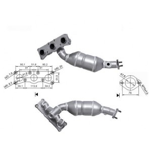 MagnaFlow DIRECT-FIT CATALYTIC CONVERTER