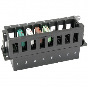 Sandtler Fuse box, 8 terminals, High fuses